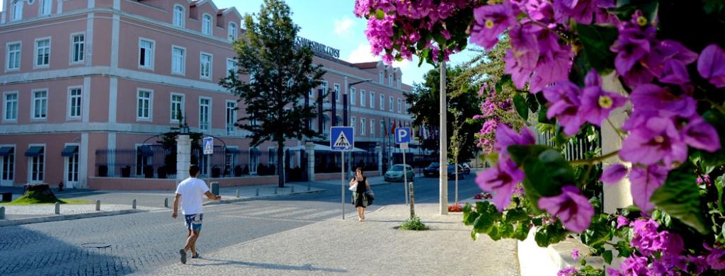 Ruas e Avenidas nas Caldas da Rainha, Avenida Dr. Manuel Figueira Freire da Câmara Caldas da Rainha meio Gocaldas