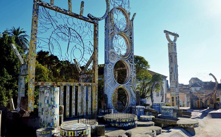 Cerâmica nas Caldas da Rainha, Jardim de água de Ferreira da Silva, Gocaldas, o teu Guia Turístico Local