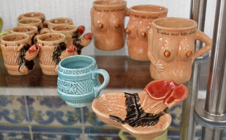 Cerâmica nas Caldas da Rainha, cerâmica fálico satírica, Gocaldas, o teu Guia Turístico Local