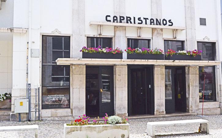 Capristanos facade in Caldas da Rainha