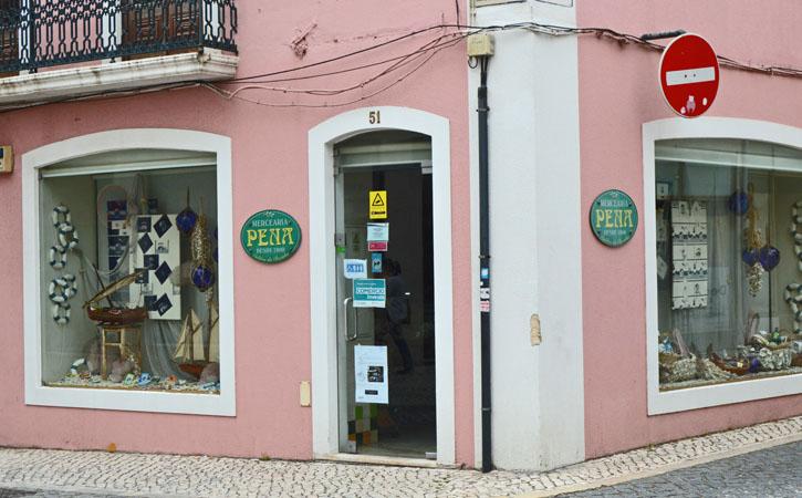 Pena Grocery Store facade