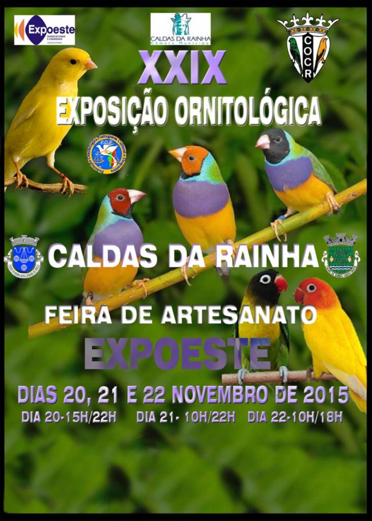 Eventos Anuais nas Caldas da Rainha, Exposição Ornitológica Caldas da Rainha Expoeste Gocaldas