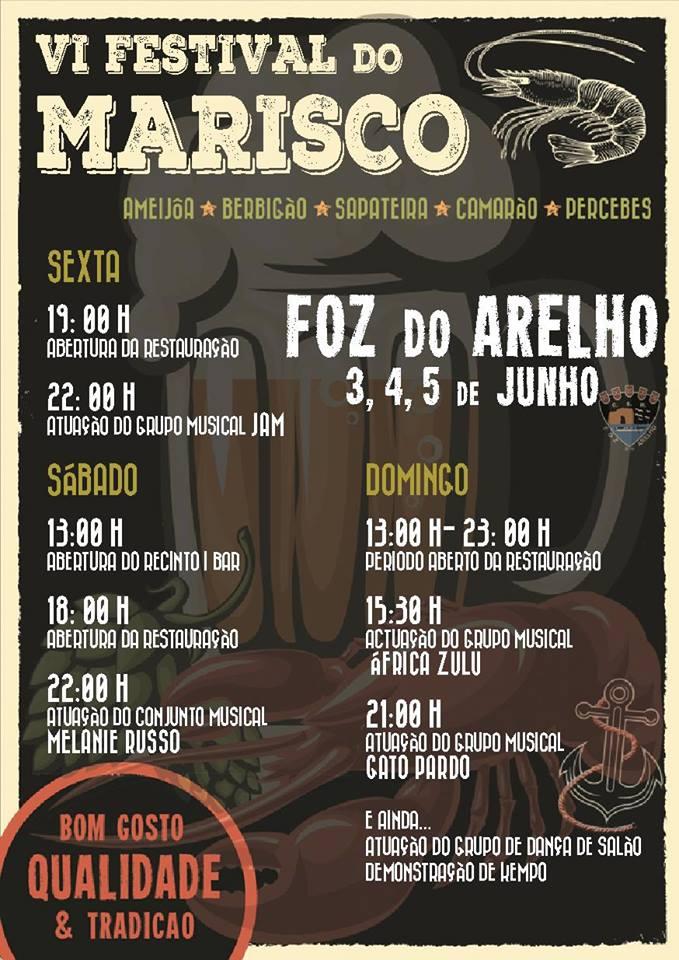 Festival Marisco Foz do Arelho Caldas da Rainha Gocaldas