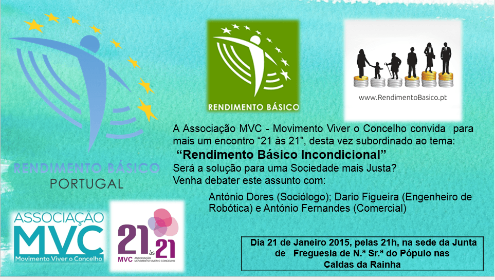 Monthly - 21 to 21, Conference at Caldas da Rainha