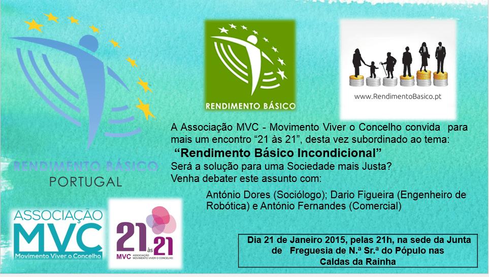 Monthly - 21 to 21, Conference at Caldas da Rainha