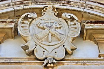 Capela do Espírito Santo Brasão caldas da Rainha