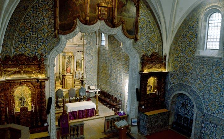Igreja de Nossa Senhora do Pópulo, interior, Caldas da Rainha