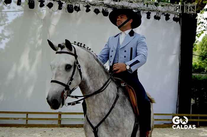 Eventos Anuais nas Caldas da Rainha, Oeste Lusitano Caldas da Rainha Gocaldas homem a Cavalo