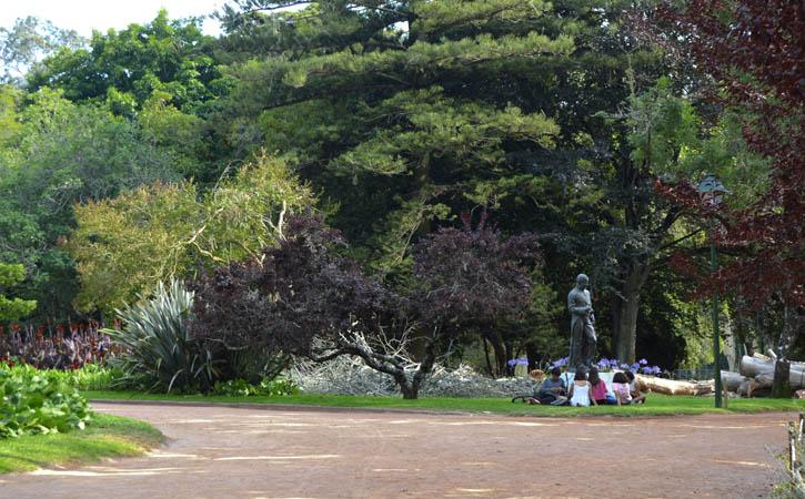 Sítios para Andar de Mãos Dadas nas Caldas da Rainha - Parque D. Carlos I