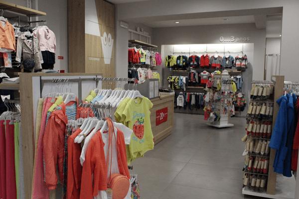Coccodrillo Loja de Roupa Infantil em Caldas da Rainha, interior da loja