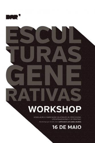 Workshop Esculturas Generativas Caldas da Rainha GoCaldas
