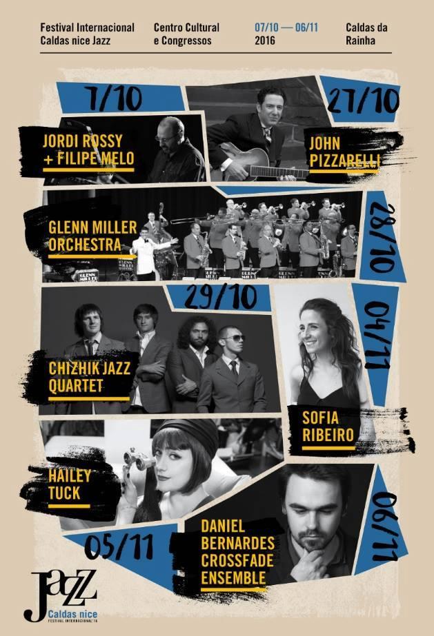 Outubro e Novembro - Caldas nice Jazz Caldas da Rainha CCC Gocaldas