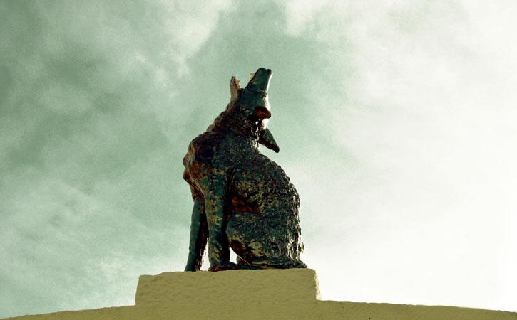 Rota Bordaliana, o Lobo, Caldas da Rainha
