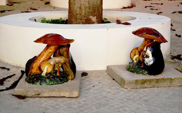 Rota Bordaliana, os Cogumelos, Caldas da Rainha