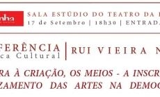 Setembro – Conferência com Rui Vieira Nery