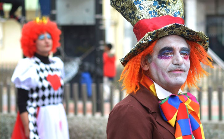 Eventos Anuais nas Caldas da Rainha - Carnaval, chapeleiro, Gocaldas o teu Guia Turístico Local