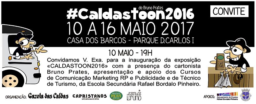 Maio - Exposição CaldasToon 2016