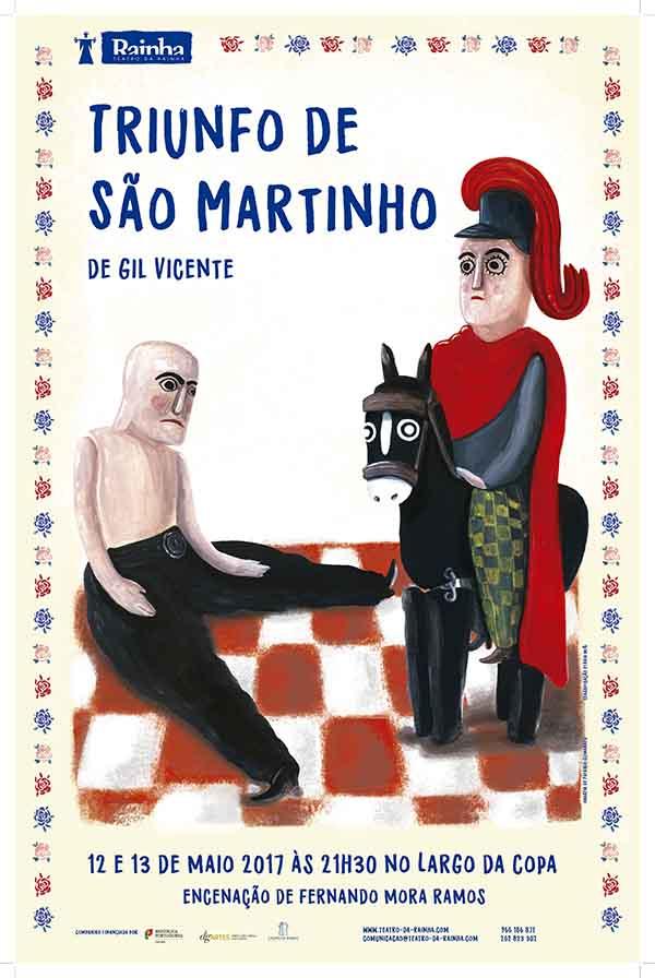 Maio - Triunfo do São Martinho Teatro da Rainha Caldas da Rainha Gocaldas