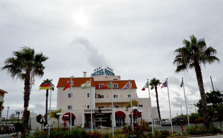 Tudo sobre os Hoteis em Caldas da Rainha Caldas Internacional Hotel, Caldas da Rainha, fachada, Gocaldas, o teu Guia Turístico Local