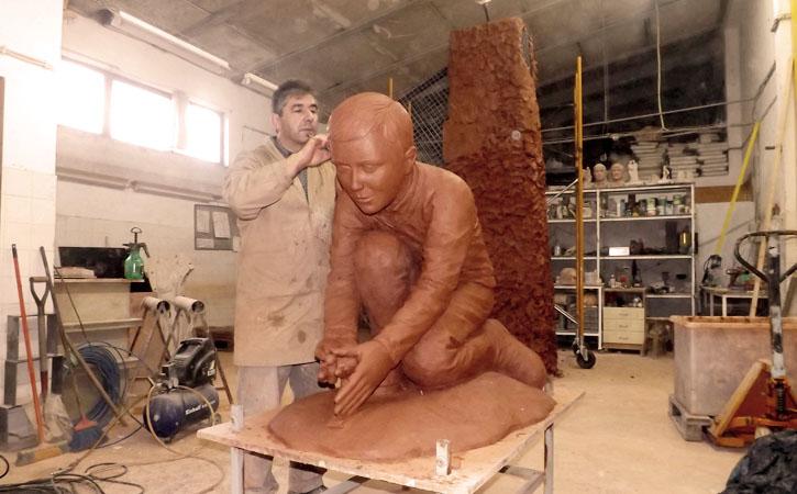 Carlos Oliveira, Escultor e Ceramista, Caldas da Rainha, atelier, Gocaldas, o teu Guia Turístico Local