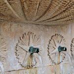 Chafariz das Cinco Bicas, Caldas da Rainha, detalhe das bicas, Gocaldas, o teu Guia Turístico Local