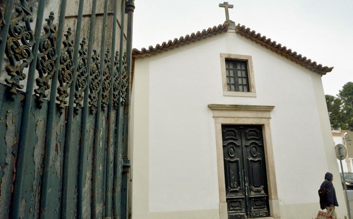 Capela de São Sebastião em Caldas da Rainha, fachada, Gocaldas, o teu Guia Turístico Local