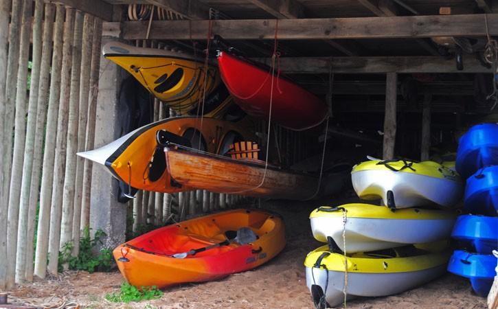 Escola de Vela da Lagoa, Foz do Arelho, piso inferior, Gocaldas, o teu Guia Turístico Local