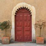 Igreja Nossa Srª do Pópulo, Caldas da Rainha, porta, Gocaldas, o teu Guia Turístico Local