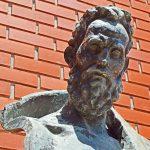 Museu Barata Feyo, Caldas da Rainha, Centro de Artes, busto Barata Feyo, Gocaldas, o teu Guia Turístico Local