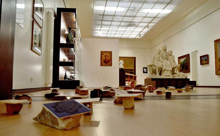 Museu José Malhoa, Caldas da Rainha, sala do Grupo Leão, Gocaldas