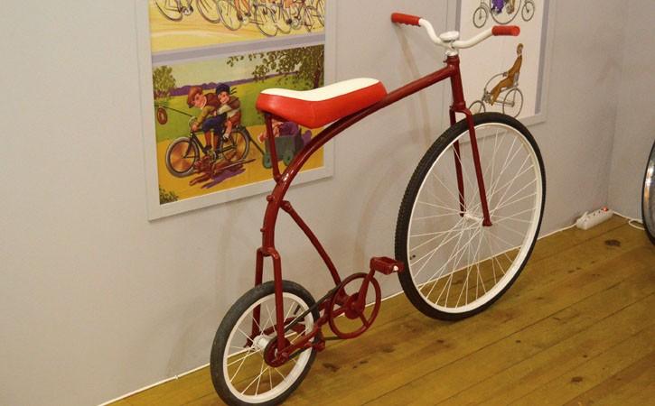 Museu do Ciclismo, piso superior, Gocaldas, o teu Guia Turístico Local
