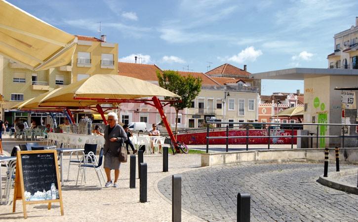 Praça 5 de Outubro, Praça do Peixe antiga, Caldas da Rainha, Gocaldas, o teu Guia Turístico Local