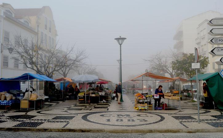 Praça da Fruta, calçada portuguesa, Gocaldas, o teu Guia Turístico Local