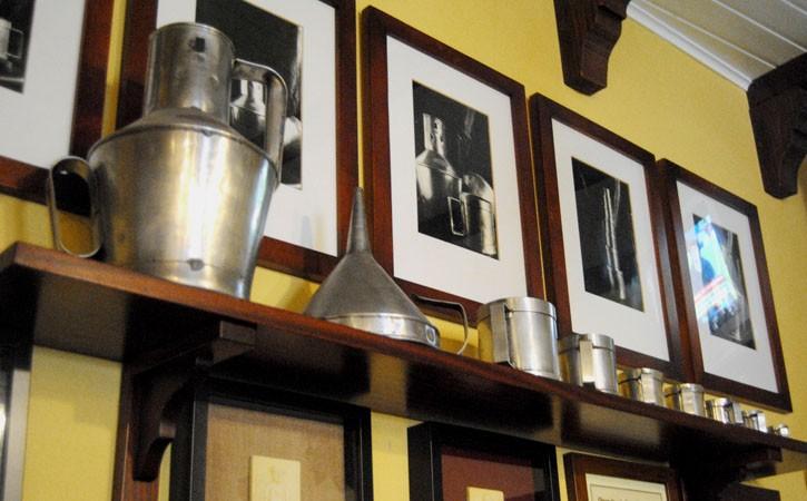 Restaurante Pachá - Casa Antero, Caldas da Rainha, detalhe de decoração, Gocaldas, o teu Guia Turístico Local