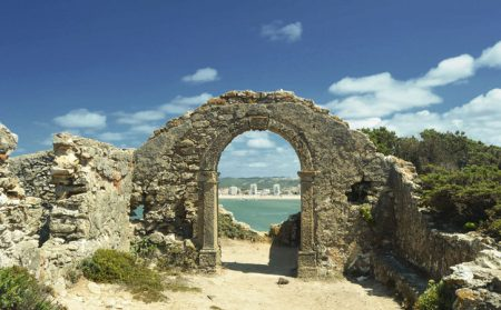 Ruínas da Capela de Santa Ana, Salir do Porto