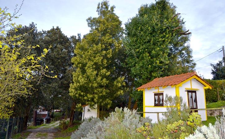 Turismo Rural nas Caldas da Rainha, Casal da Eira Branca, jardins, Gocaldas, o teu Guia Turístico Local