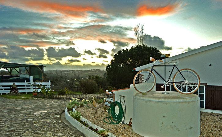Turismo Rural nas Caldas da Rainha, Casal da Eira Branca, pôr do sol, Gocaldas, o teu Guia Turístico Local
