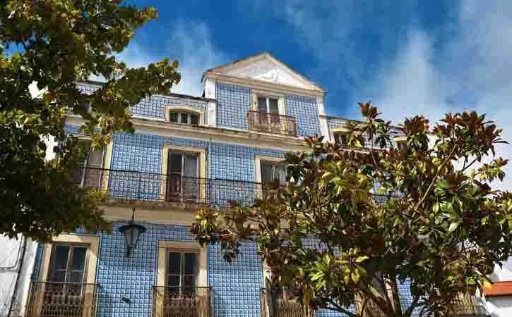 Rota da Arquitetura Caldense, Praça da Fruta, Caldas da Rainha