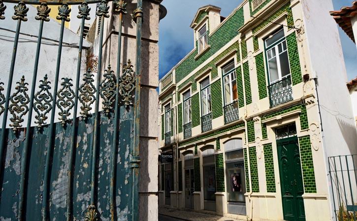 Rota da Arquitetura Caldense, Rua José Malhoa, Caldas da Rainha