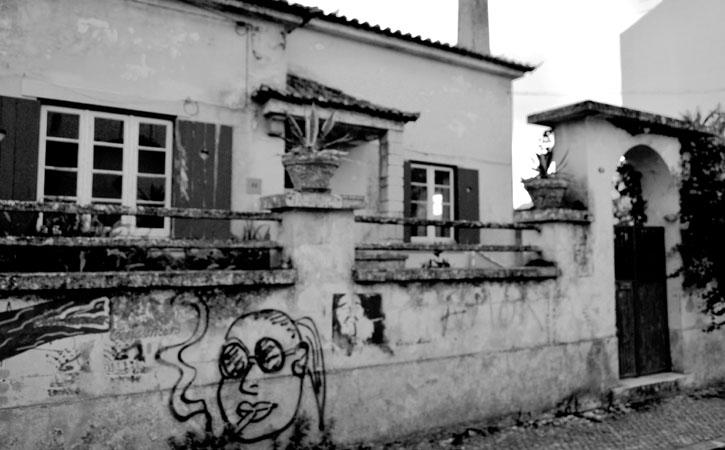 Casa Bernardo, fachada exterior, em Caldas da Rainha