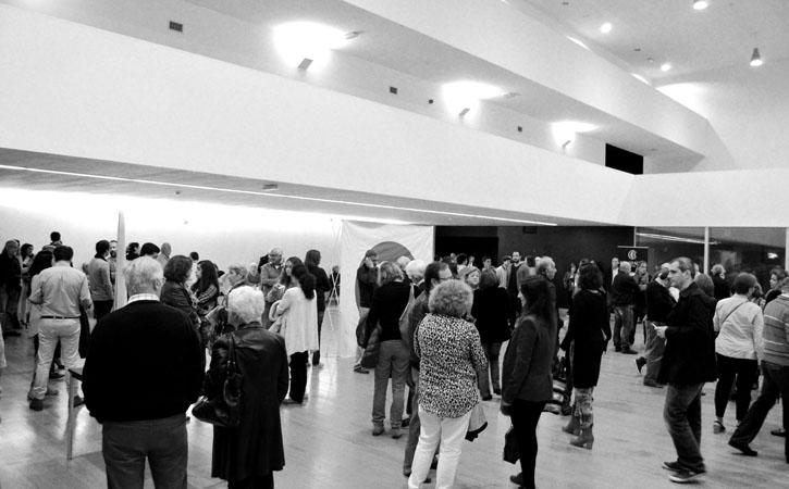 Centro Cultural e de Congressoa, Foyer, em Caldas da Rainha