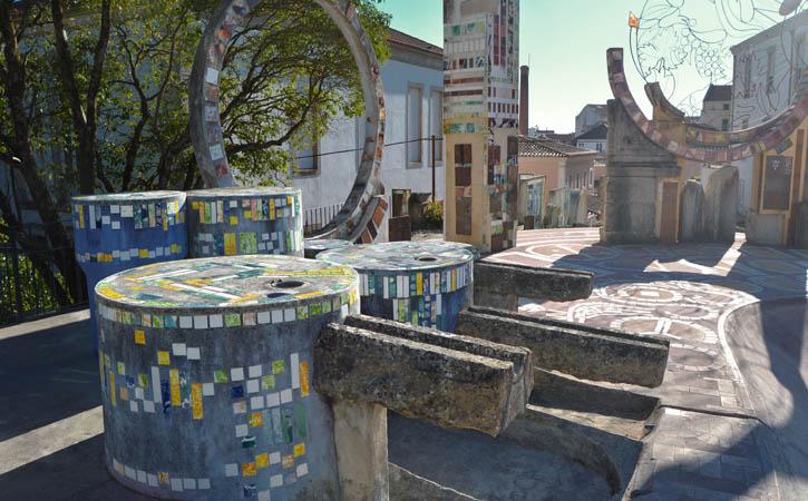 Jardim da Água, Centro Histórico, em Caldas da Rainha