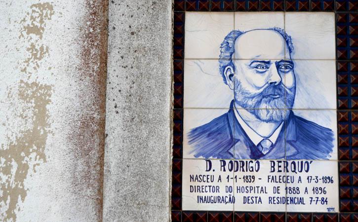Rodrigo Berquo, azulejaria, Caldas da Rainha