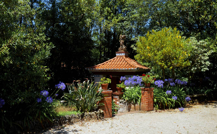 Dia dos Namorados por Caldas da Rainha, jardins do Museu da Cerâmica, Caldas da Rainha
