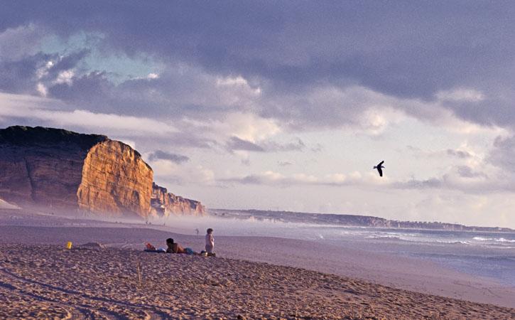 Dia dos Namorados por Caldas da Rainha, praia Foz do Arelho, Caldas da Rainha