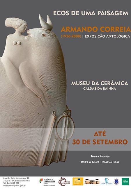Ecos de uma Paisagem de Armando Correia no Museu da Cerâmica, Caldas da Rainha, GoCaldas