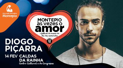 Diogo Piçarra, Festival Montepio às vezes o Amor, CCC, GoCaldas Guia Turístico de Caldas da Rainha