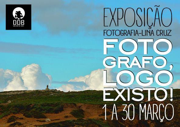 Cartaz da exposição fotografia de Lina Cruz - Photocracy