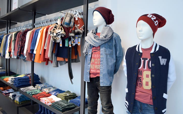 Benetton Caldas da Rainha, Children's clothing, Gocaldas, your Local Touristic Guide