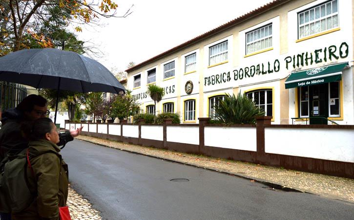 Bordallo Pinheiro Factory, facade, Gocaldas, your Loca Touristic Guide